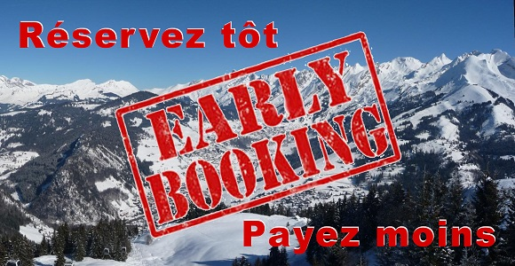 Réservation Early-booking La Clusaz