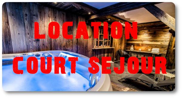 location court séjour Megève